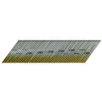 Senco A302000 Angled Strip Collated Finish Nail, 0.072 in Shank, 2 in L, Steel