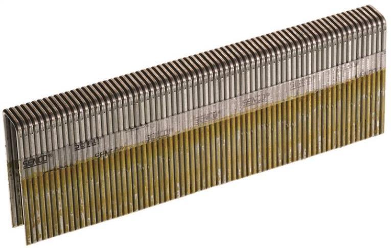 Senco N17BRB Heavy Wire Staple, 7/16 in, 1-1/2 in Leg, 16 ga