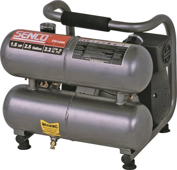 1.5HP 2.5 GALLON OIL-LESS AIR COMPRESSOR