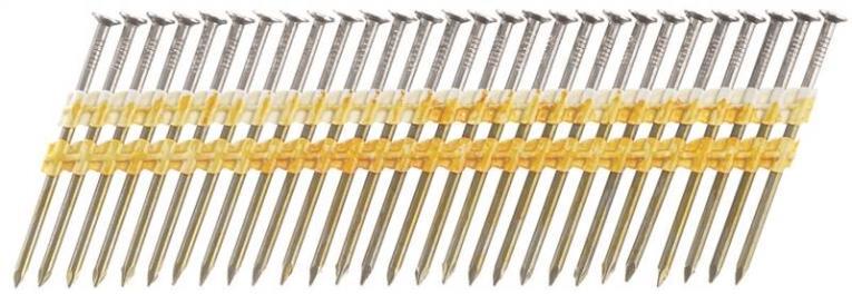 Senco KD27APBSN Stick Collated Nail, 3 in, 20 deg
