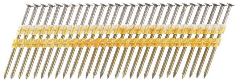 Senco KD28ASBS Stick Collated Nail, 3-1/4 in, 20 deg