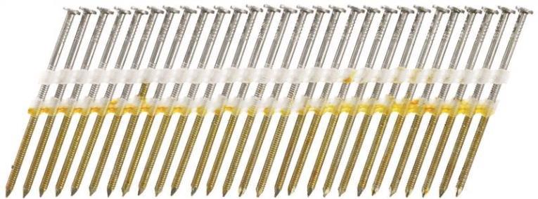 Senco HL27ASBS Stick Collated Nail, 3 in, 20 deg