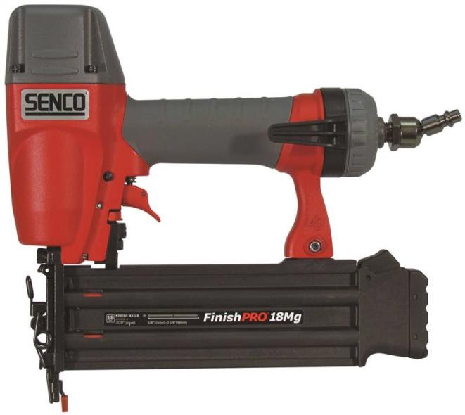 FinishPro18MG 1U0021N Brad Nailer, 110 Nails, 5/8 - 2-1/8 in 18 ga Adhesive Collated Nail