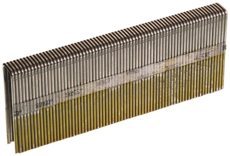 Senco N19BRB Heavy Wire Staple, 7/16 in, 1-3/4 in Leg, 16 ga