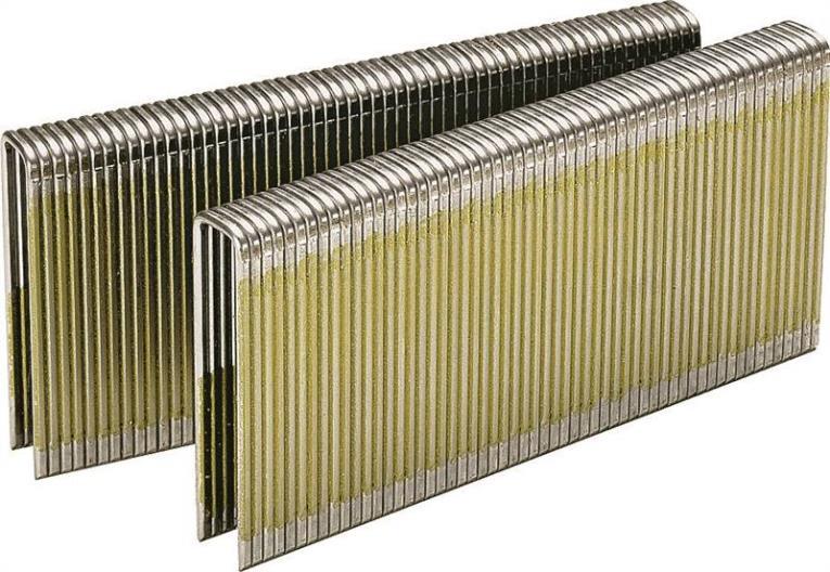 Senco L12BAB Medium Narrow Wire Staple, 1/4 in, 7/8 in Leg, 18 ga