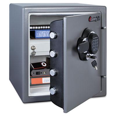 Fire-Safe w/Digital Keypad Access, 1.23 ft3, 16.38 x 19.38 x 17.88, Gunmetal