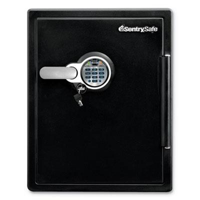 Fire-Safe w/Biometric & Keypad Access, 2 ft3, 18.6 x 19.6 x 23.8, Black