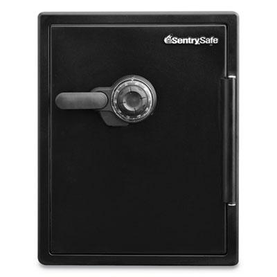 Fire-Safe w/Combination Access, 2 ft3, 18.6 x 19.3 x 23.8, Black