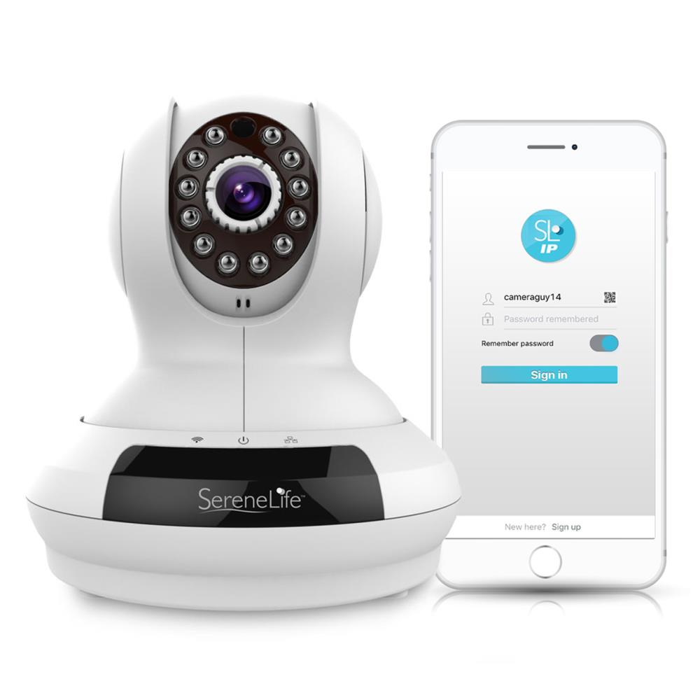 SERENE LIFE IPCAMHD61 HD WIRELESS IP CAMERA WIFI CAM WITH