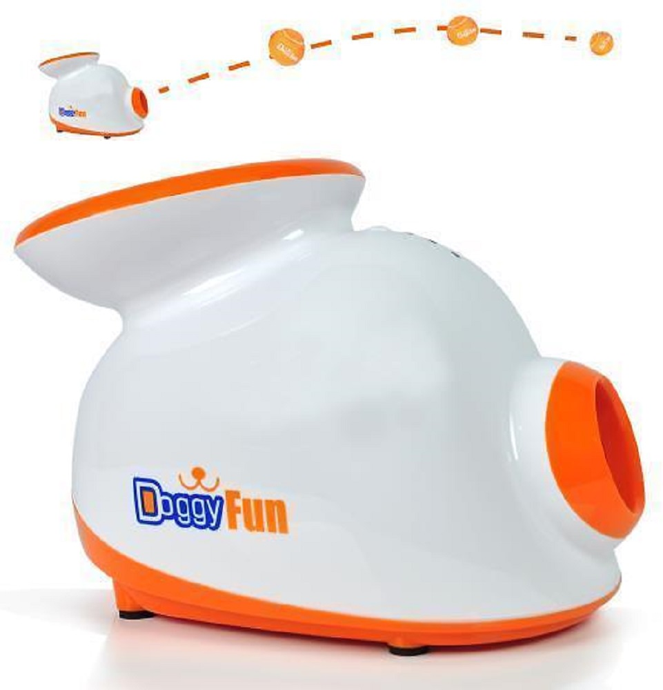 SERENE LIFE SLDGFN5 AUTOMATIC DOG BALL LAUNCHER FETCHING