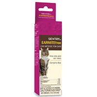 Sentry 02103 HC Ear Miticide, 1 oz