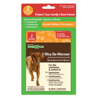 DE-WORMER 7 WAY LARGE DOG 2CT