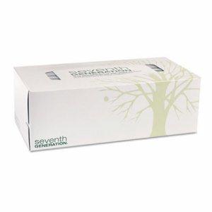 100% Recycled Facial Tissue, 2-Ply, 175/Box, 36/Carton