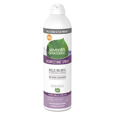 Disinfectant Aerosol Sprays, Lavender Vanilla/Thyme, 13.9 oz, Spray Bottle
