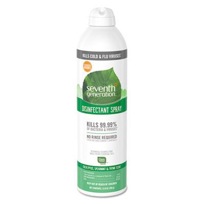 Disinfectant Aerosol Sprays, Eucalyptus/Spearmint/Thyme, 13.9 oz, Spray Bottle