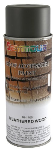 16 Oz. Roof Accessory Paint, Weathered Wood