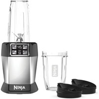 SharkNinja BL481 Drink Extractor, 1000 W, 3 Cup, Plastic, Silver/Black