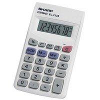 EL233SB Pocket Calculator, 8-Digit LCD