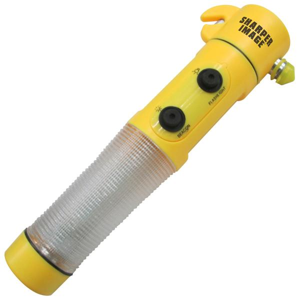 SHARPER IMAGE SIAA1 AUTO EMERGENCY HAMMER WITH FLASHLIGHT
