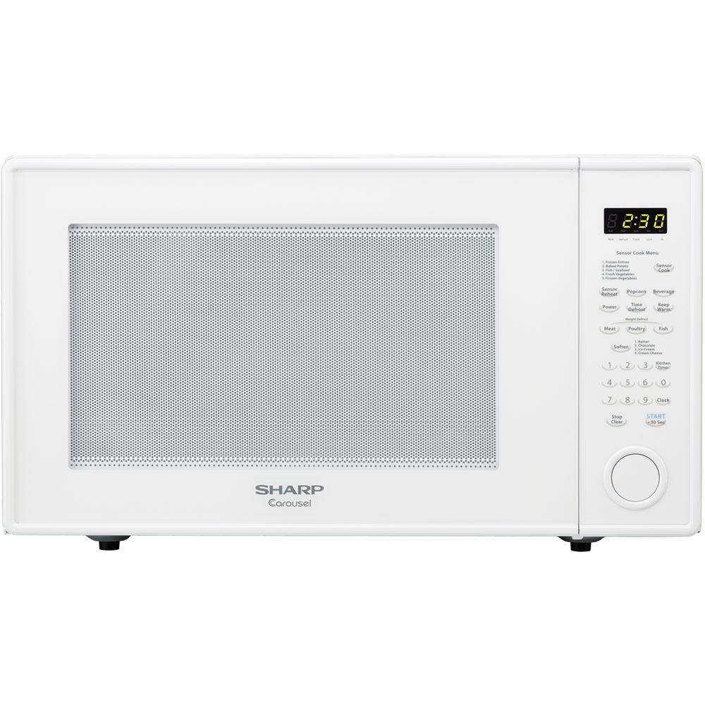 "2.2 cu.ft, 1200W Microwave Oven with 16"" Turntable, Sensor, Keep Warm Function"
