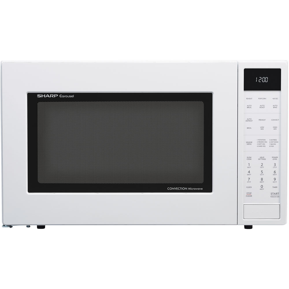1.5 CF, 900 Watts, Microwave Oven Convection, Sensor Interactive