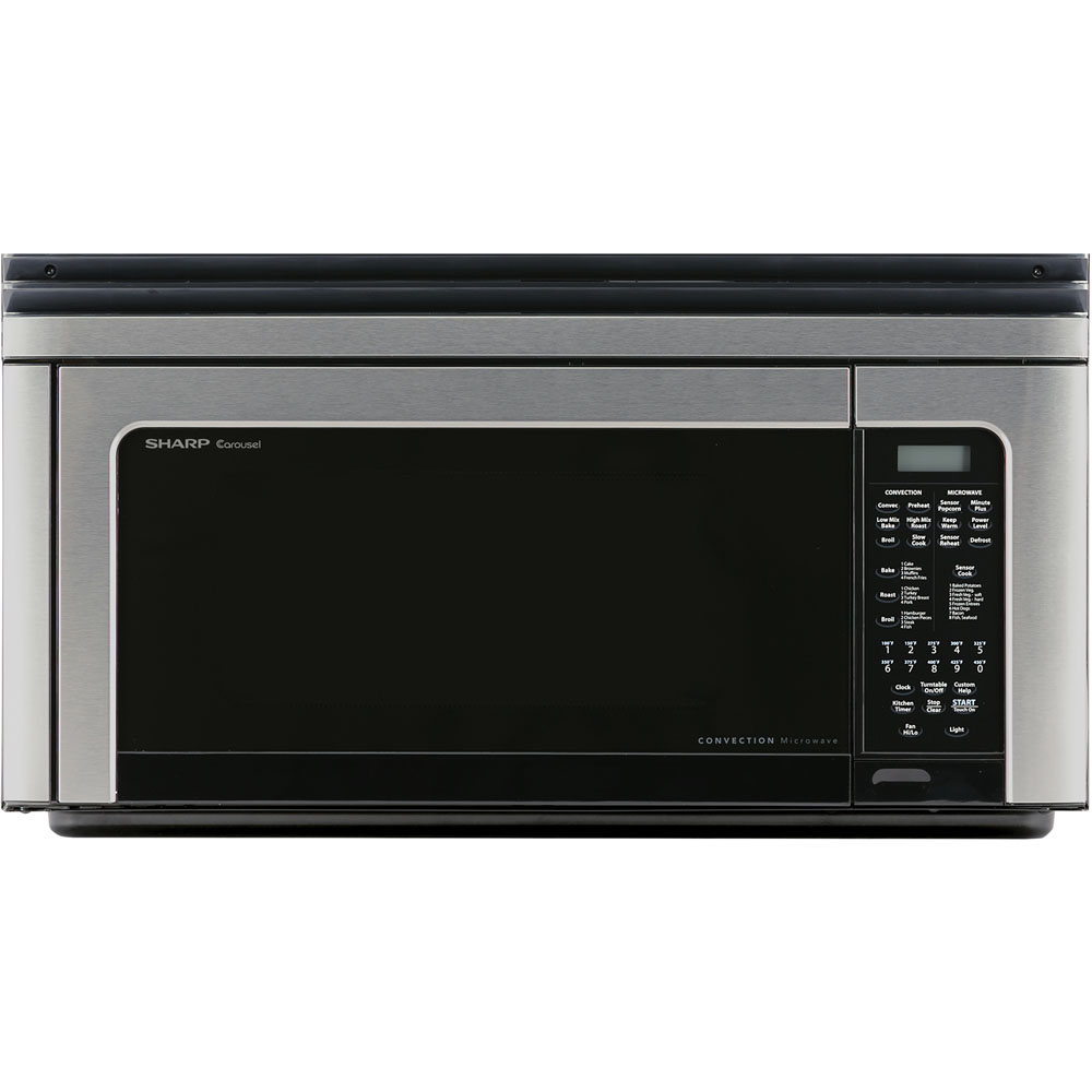 1.1 CF, 850 Watt OTR Convection Microwave; Stainless