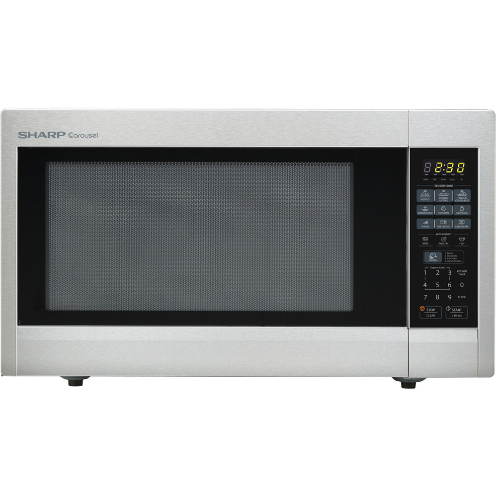 "2.2 cu.ft, 1200W with 16"" Tunrtable, Sensor, Keep Warm Function"