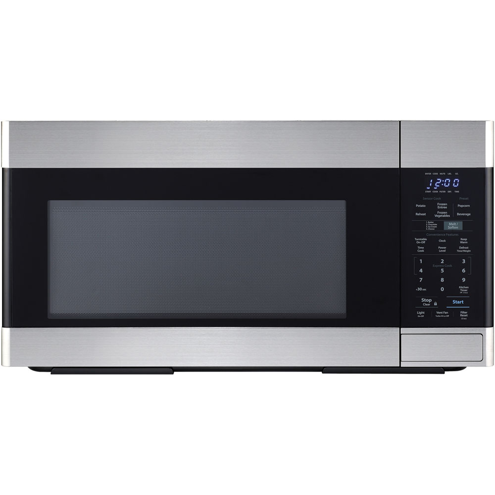 1.8 CF OTR Microwave, 1100W, 3-Speed, Sensor Interactive
