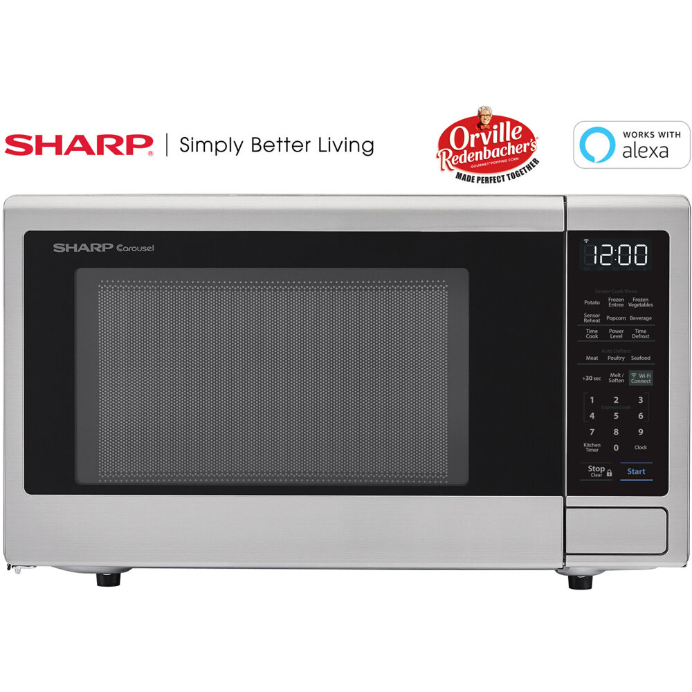 1.4 CF Countertop Microwave, Orville Redenbacher's Certified, Wi-Fi