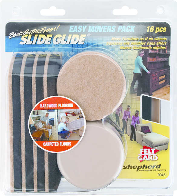 9045 16PC FURNITURE SLIDE PACK