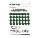 9421 3/8 IN. GREEN FELT PAD
