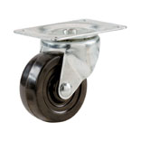 9477 2 IN. BL RUBBER SWVL CASTER