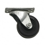 9479 3 IN. BL RUBR SWIVEL CASTER