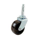 9557 1 1/4 IN. STEM FURN CASTER