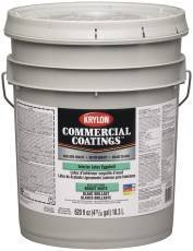 KRYLON INTERIOR LATEX PAINT SEMI GLOSS 5 GALLON LINEN WHITE