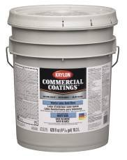 KRYLON INTERIOR LATEX PAINT FLAT 5 GALLON LINEN WHITE