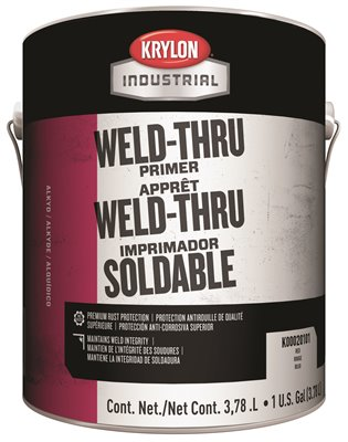 PAINT WELD THRU 1 GALLON GRAY PRIMER