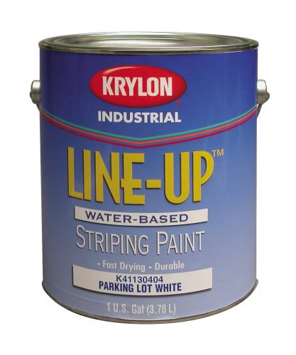 KRYLON HEAVY-DUTY LATEX TRAFFIC PAINT 1 GALLON WHITE
