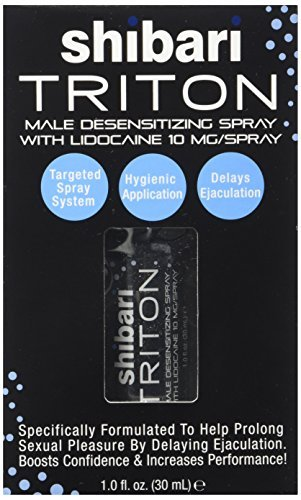 SHIBARI TRITON1oz TRITON MALE DESENSITIZING SPRAY 1OZ WITH