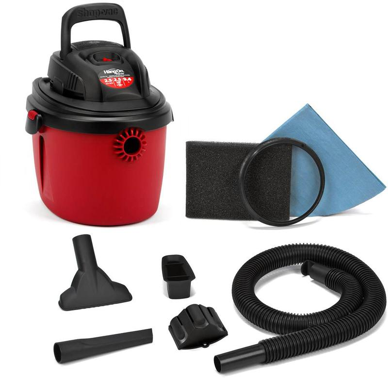 2036000 2.5 GALLON SHOP VACUUM