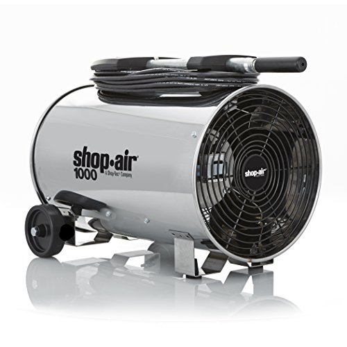 "Stainless Steel Portable Blower, 11"", 3-Speed, 1/4 HP Motor"