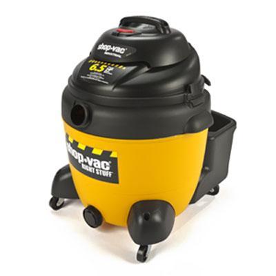 Industrial Wet/Dry Vacuum, 18gal, 6.5 Peak HP