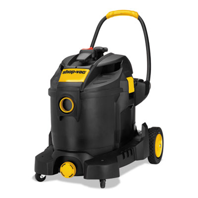 "Industrial SVX2 Motor Wet/Dry Vacuum, 21.5"", Black/Yellow"