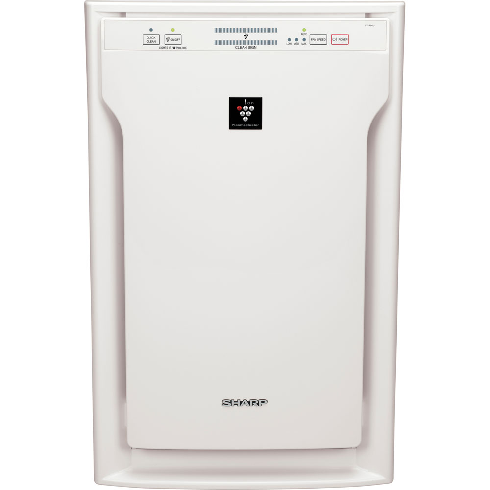 3-Speed HEPA Air Purifier with Plasmacluster® Ion Technology