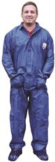 SHUBEE� TRISHIELD� COVERALLS WITHOUT HOOD, 5 POCKETS, DISPOSABLE, LARGE, 25 PER CASE