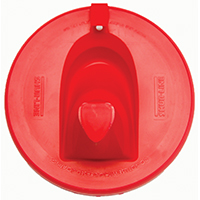 Shur-Line 1783844 Flexible Paint Can Lid With Pour Spout, 1 gal, 7-3/4 in Dia, Resin
