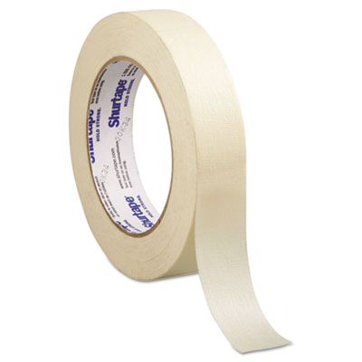 "Utility Grade Masking Tape, 1"" x 60yd, Crepe"