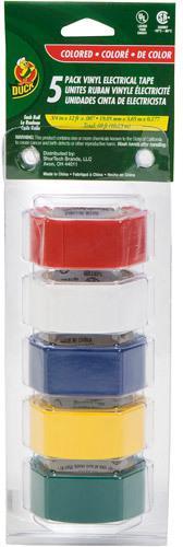 5-CP COLORED PLASTIC TAPE