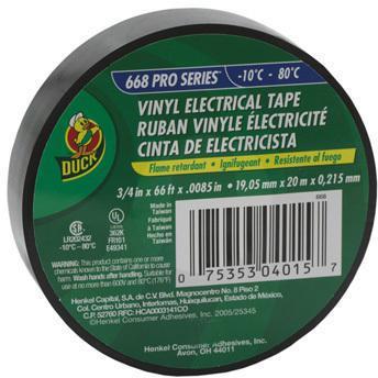 668 3/4X66 FT. 8.5MIL ELEC TAPE