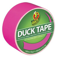 TAPE DUCT FLAMINGO 1.88INX15YD